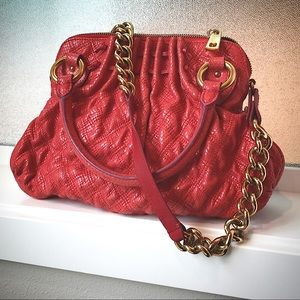 """HP - Marc Jacobs """"Cecilia"""" Quilted Embossed Stam"""